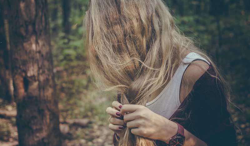 maska za suvu kosu kao slama