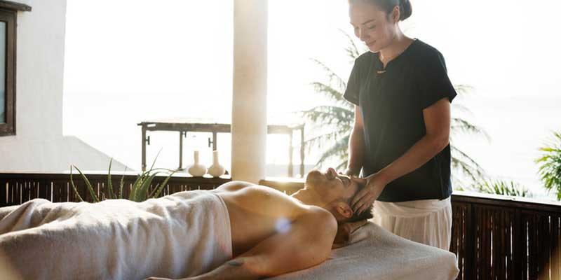 masaža glave i vrata