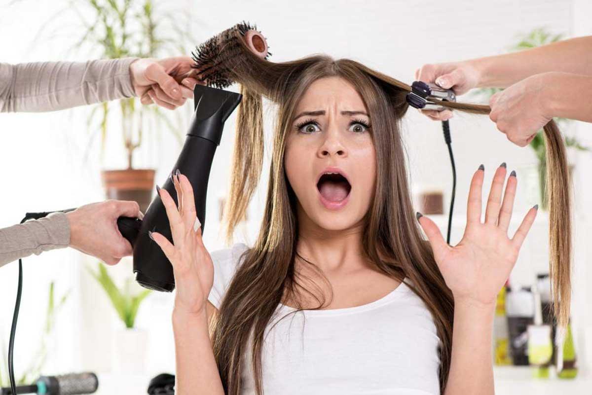 Ravna kosa na 10 načina bez peglanja!