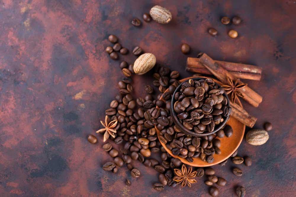 kafa za kosu kao farba