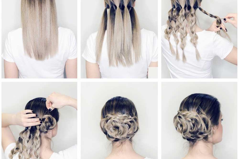 svečane frizure za devojčice