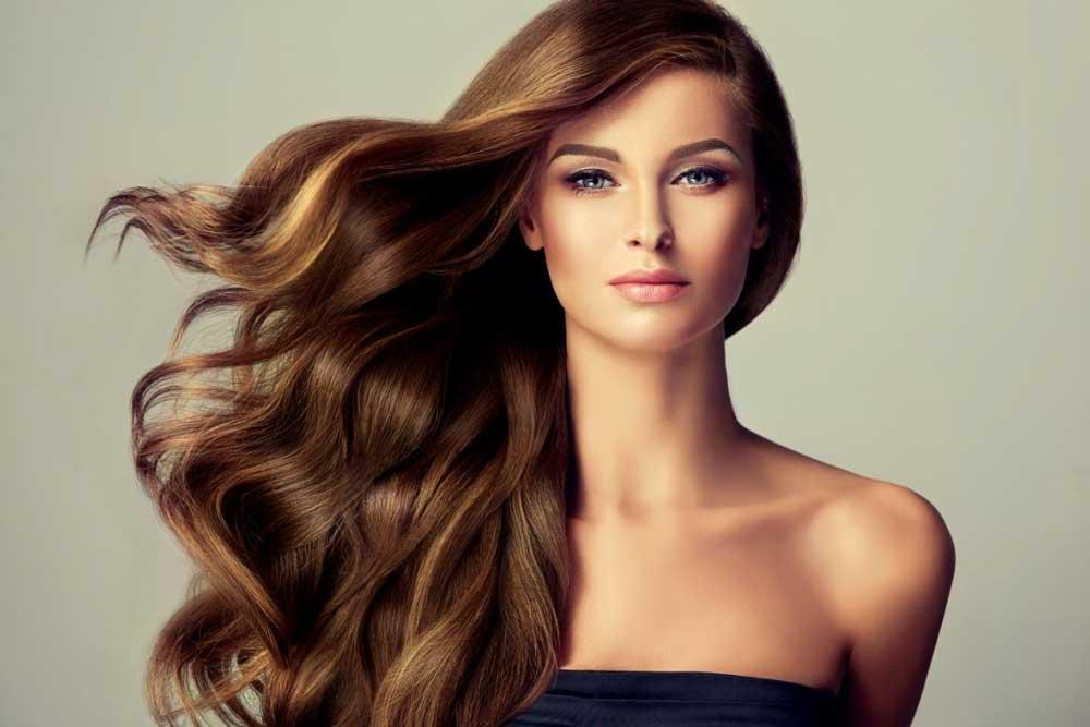 lešnik boja kose sa pramenovima