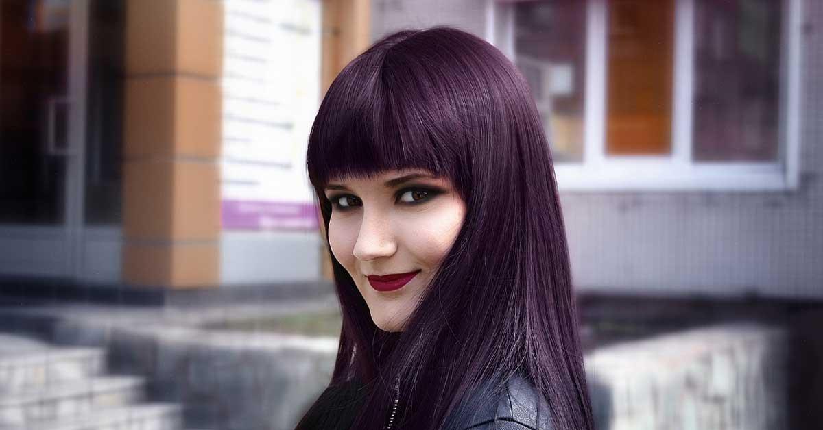 Ljubičasta boja kose uneće radost u vaš život!