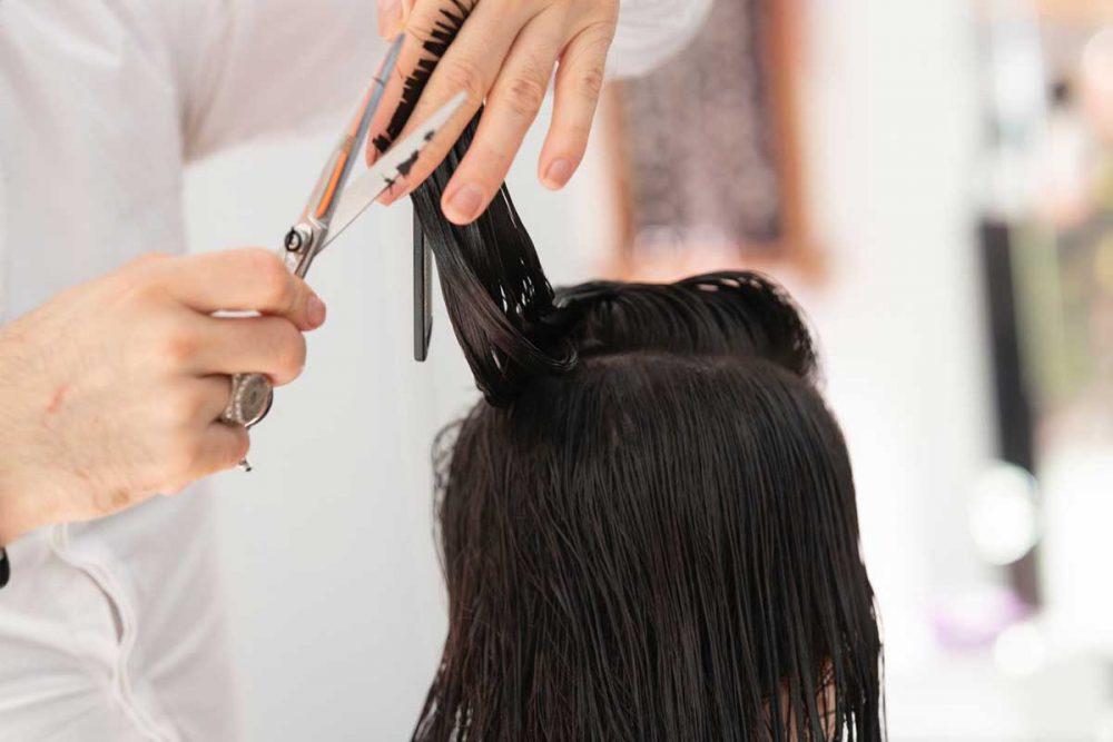 stepenasto šišanje duge kose