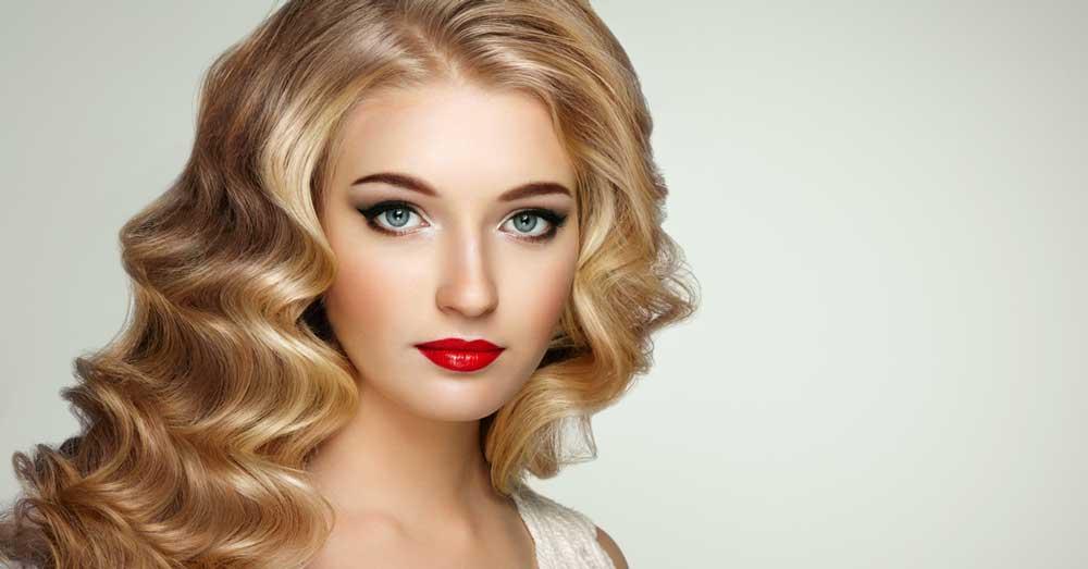 Svečane frizure za ovalno lice