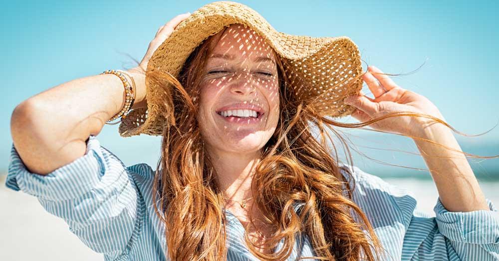 zaštita kose od sunca i morske soli