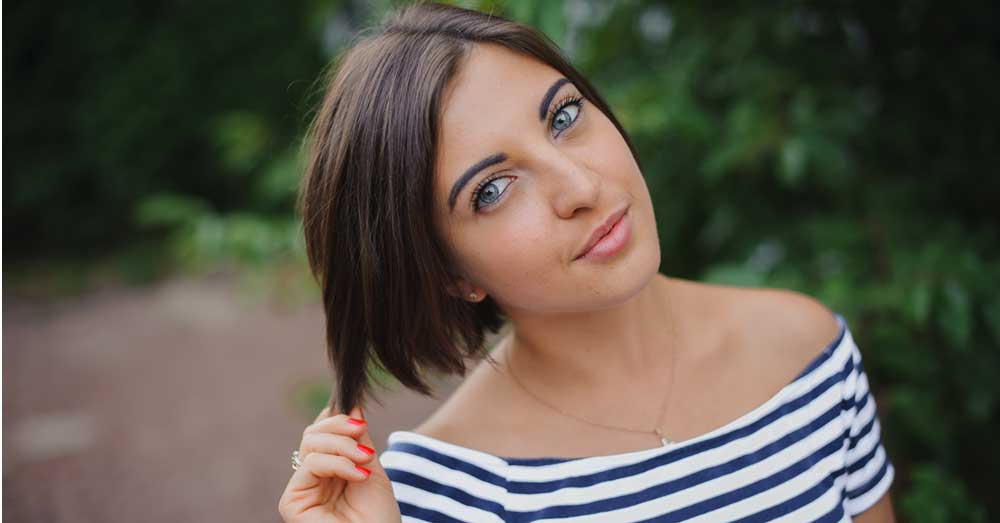 kratke bob frizure za gustu kosu