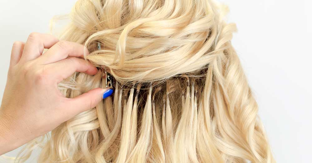 nadogradnja kose čvorovanjem