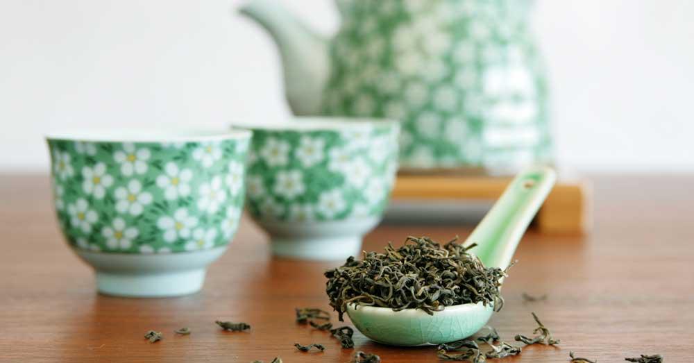 zeleni čaj za masnu kosu