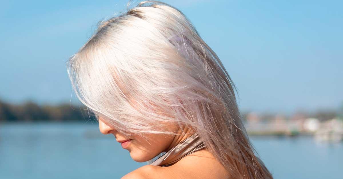 Srebrna kosa  – tutorijal u 4 koraka!