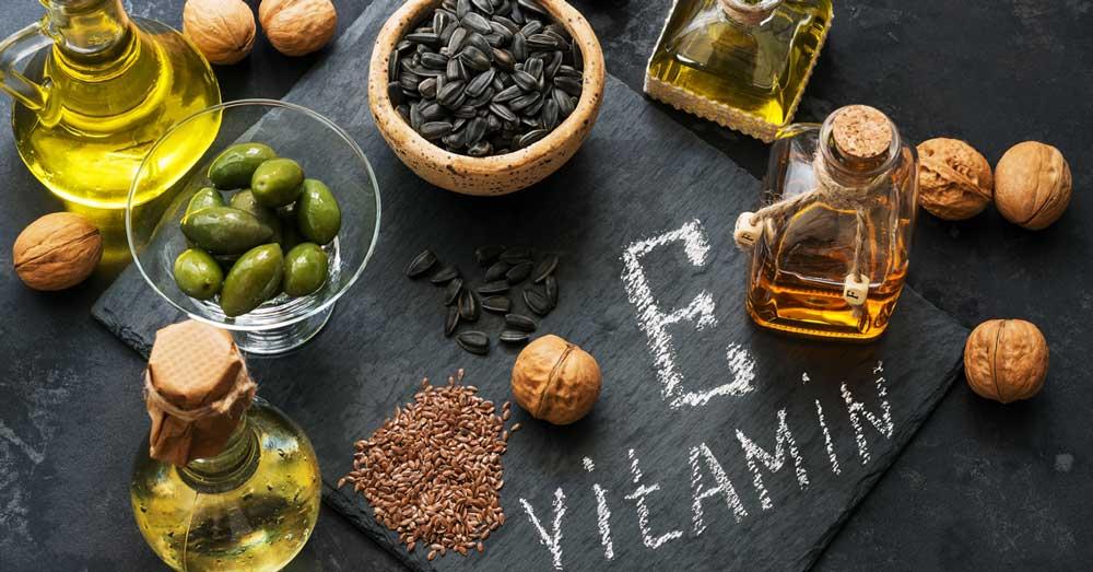 Vitamin E za kosu u hrani