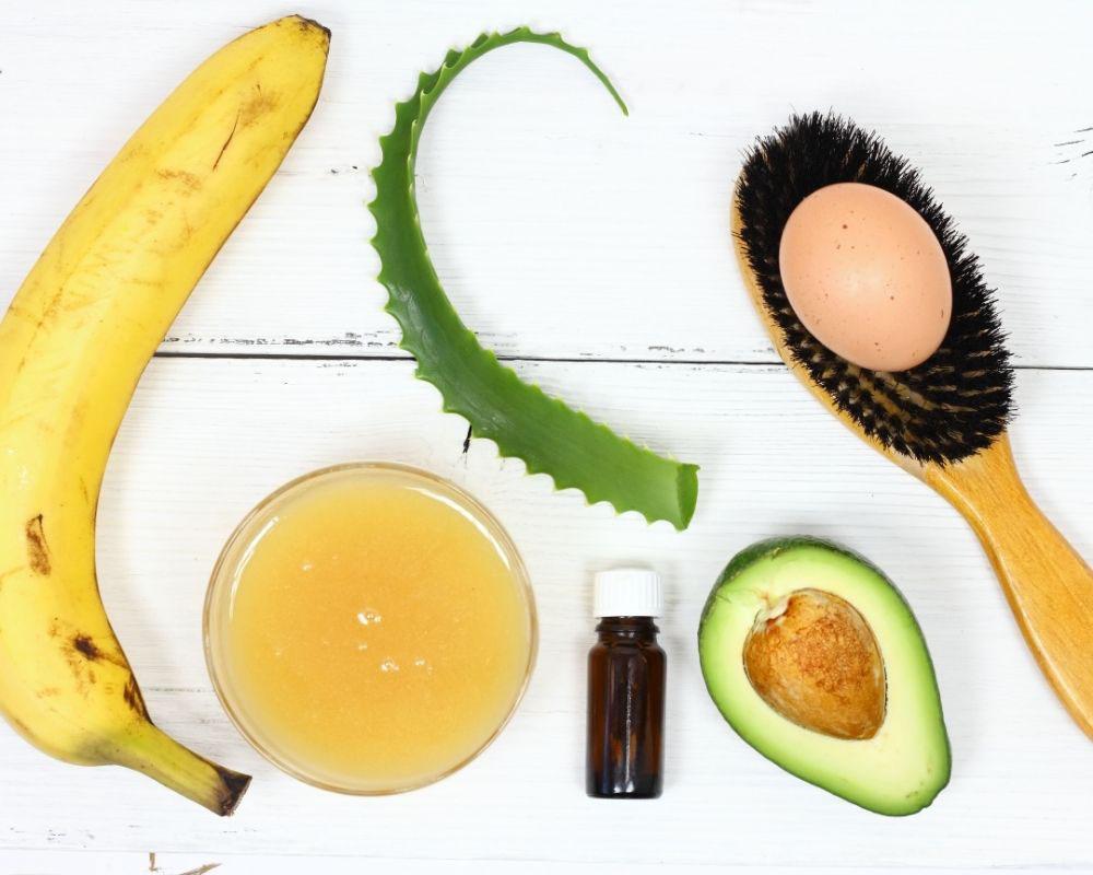 maska od banane za kosu sa jajima