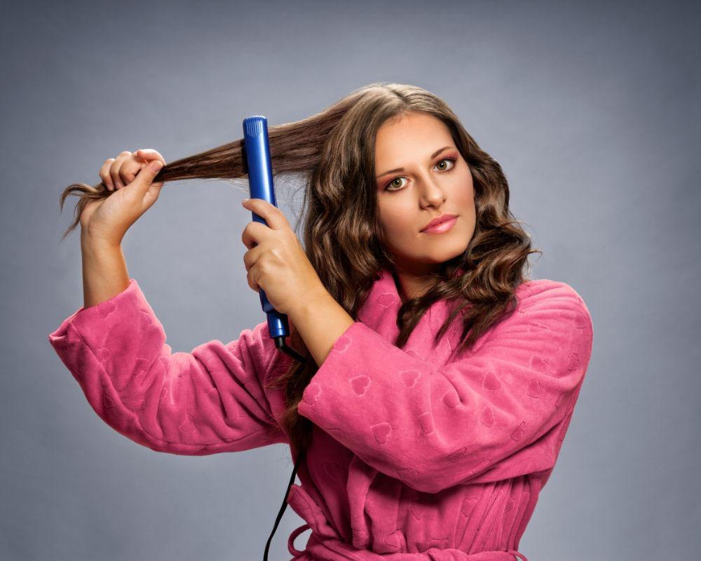 kako uviti kratku kosu presom
