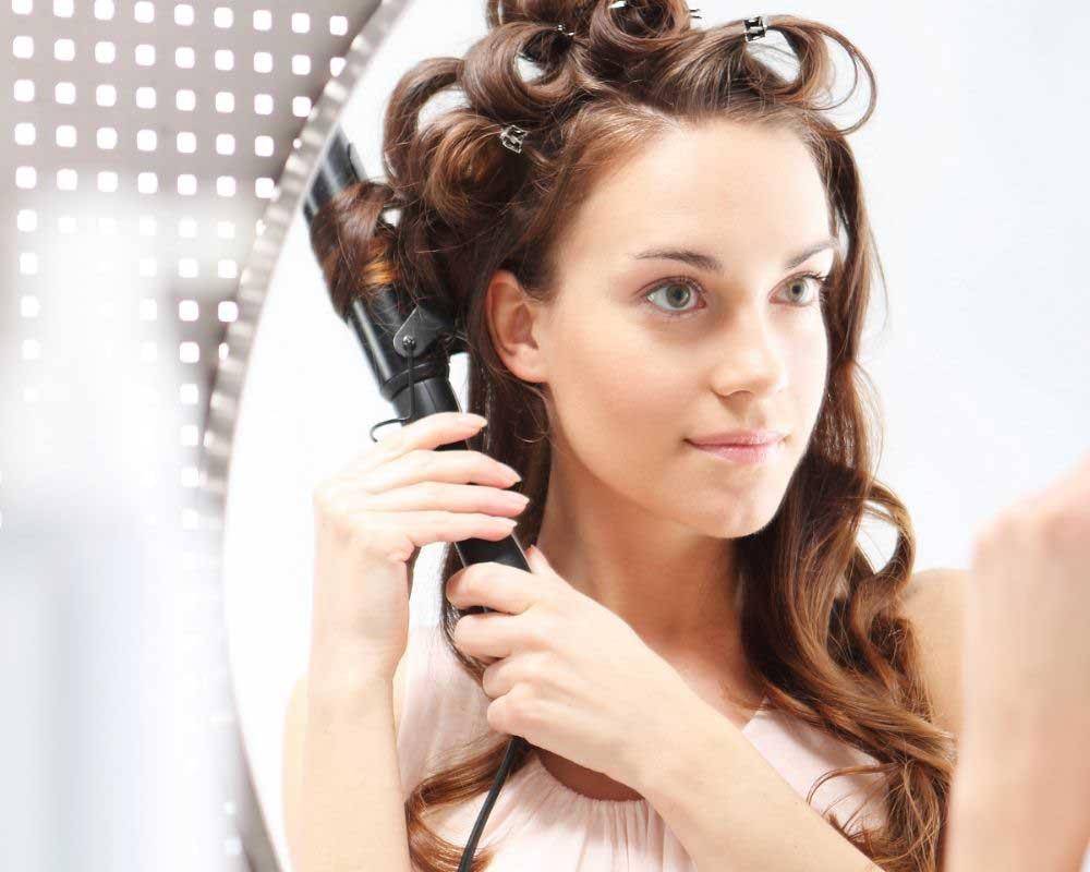 oštećena kosa od peglanja