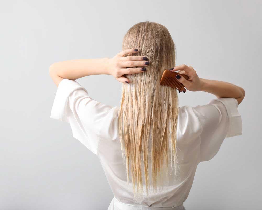 maska za volumen kose i tanku kosu