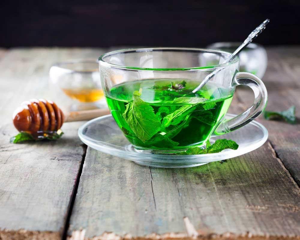 čaj od nane za suvu kosu