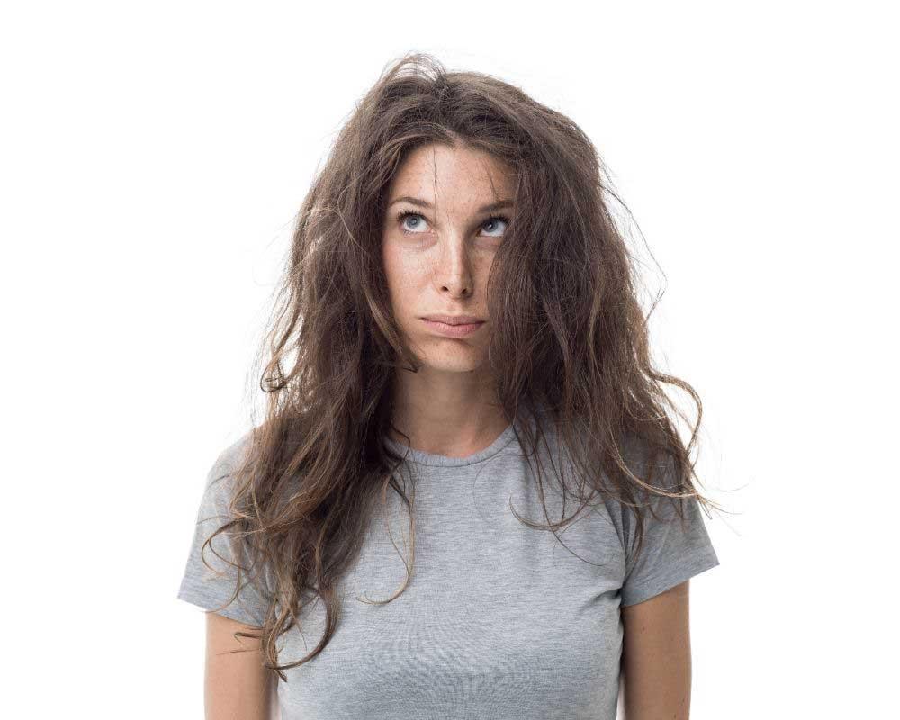 oštećena kosa hemijskim tretmanima