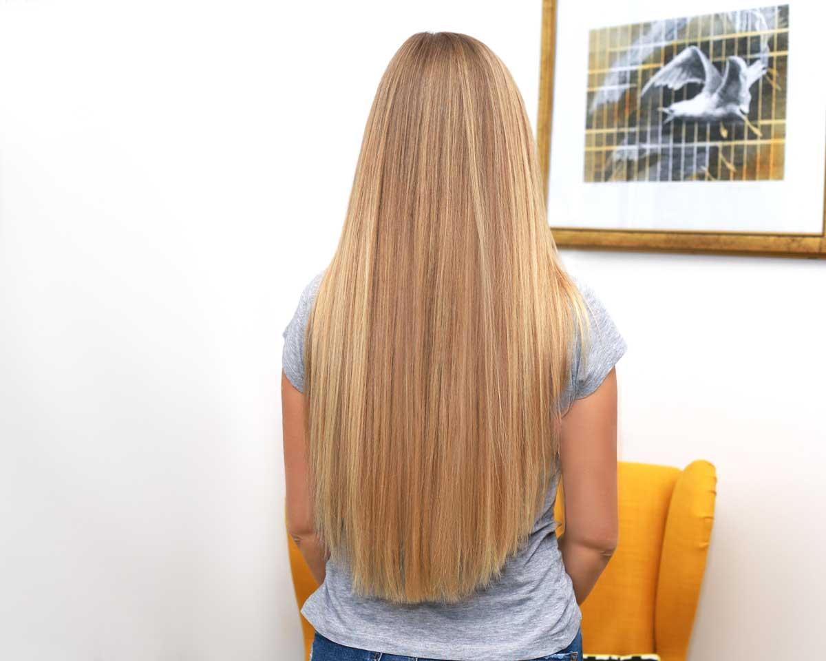 plava duga kosa