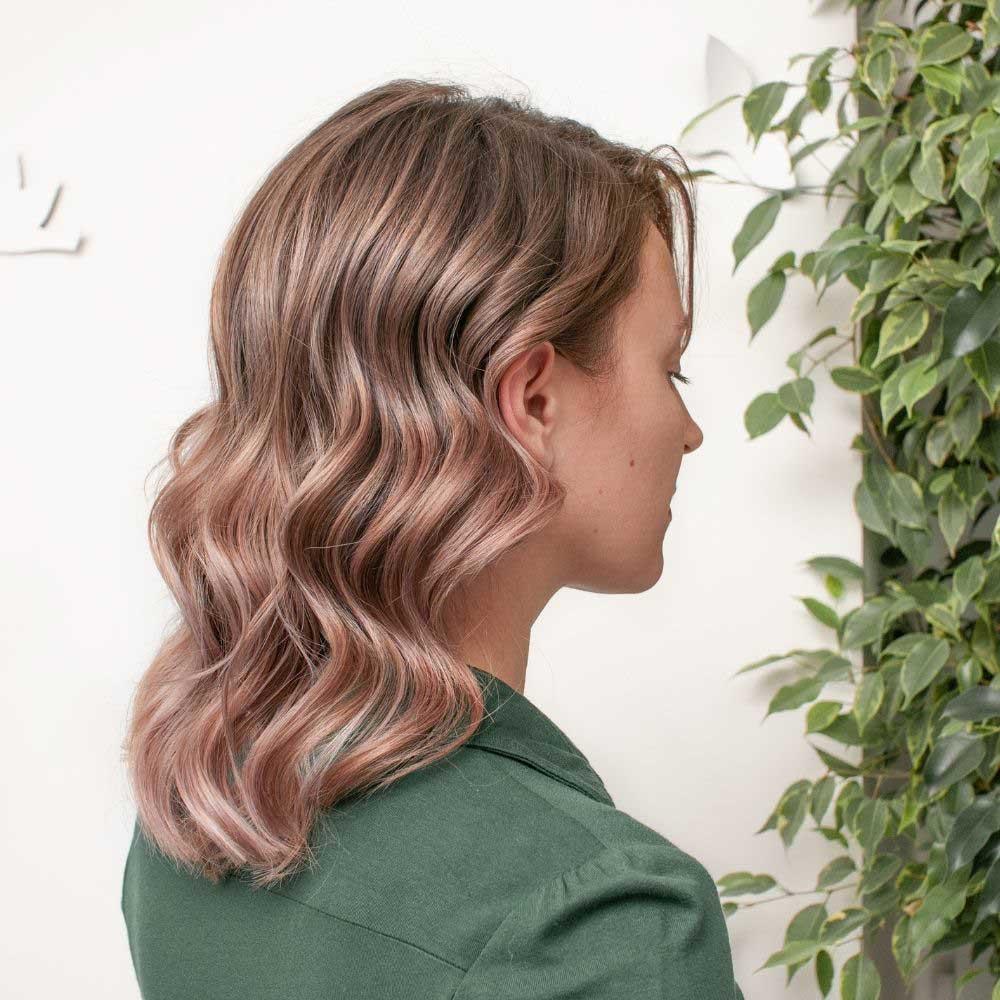 frizure za srednju dužinu talasaste kose