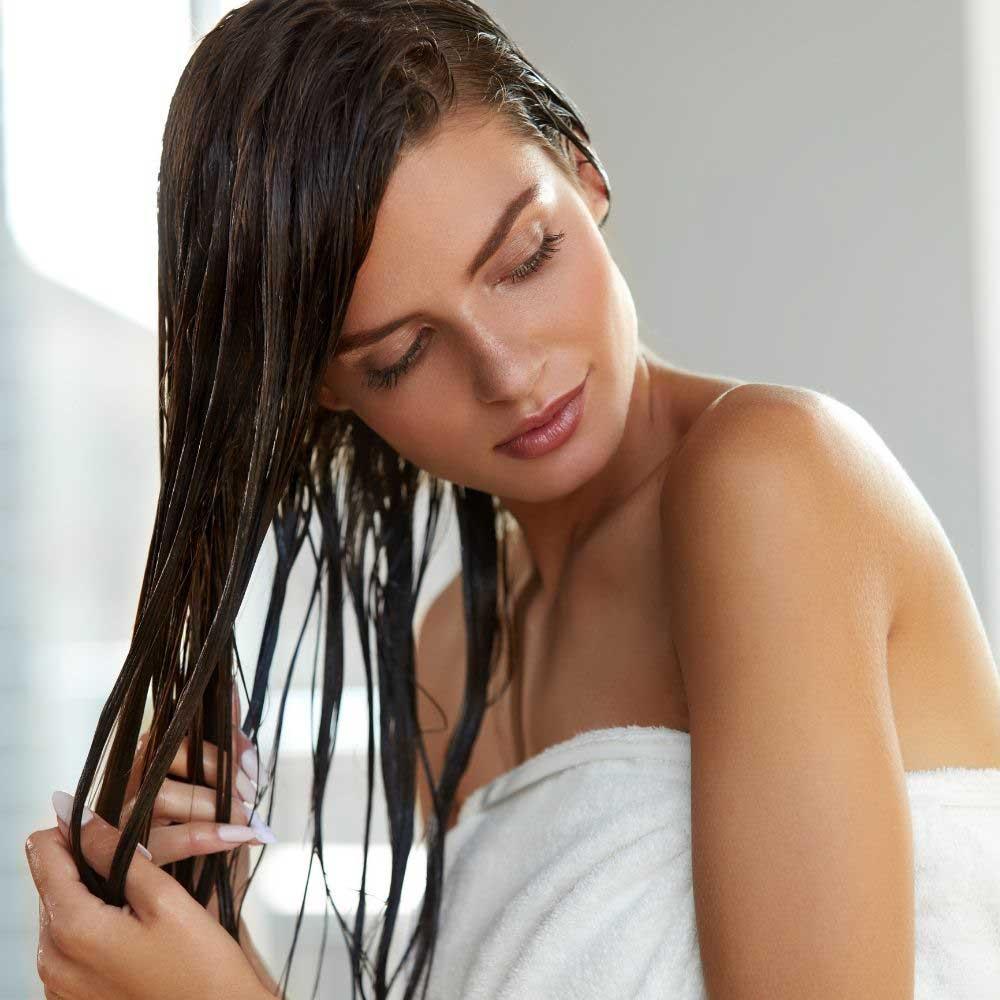 sušenje kose bez fena