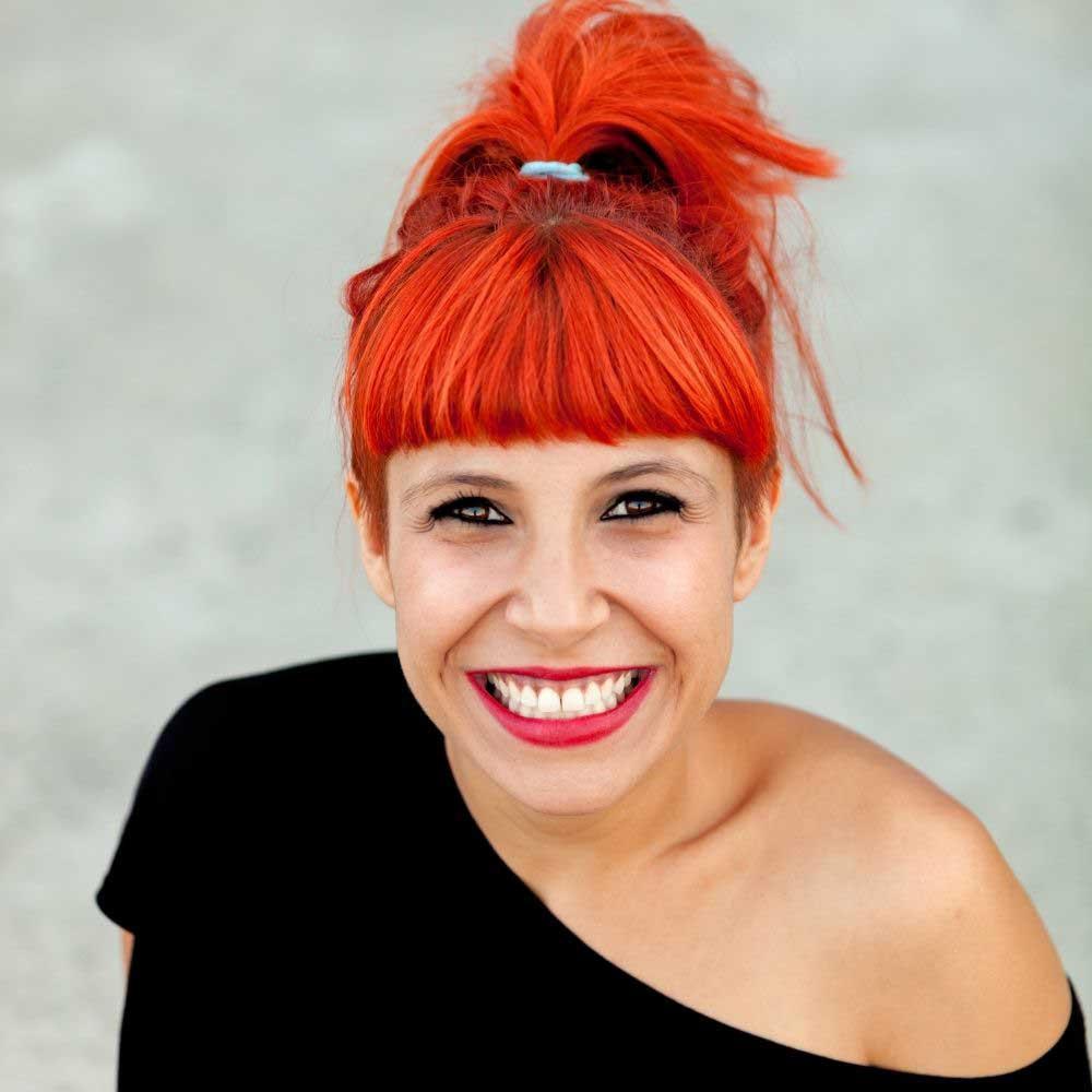 narandzasta boja kose