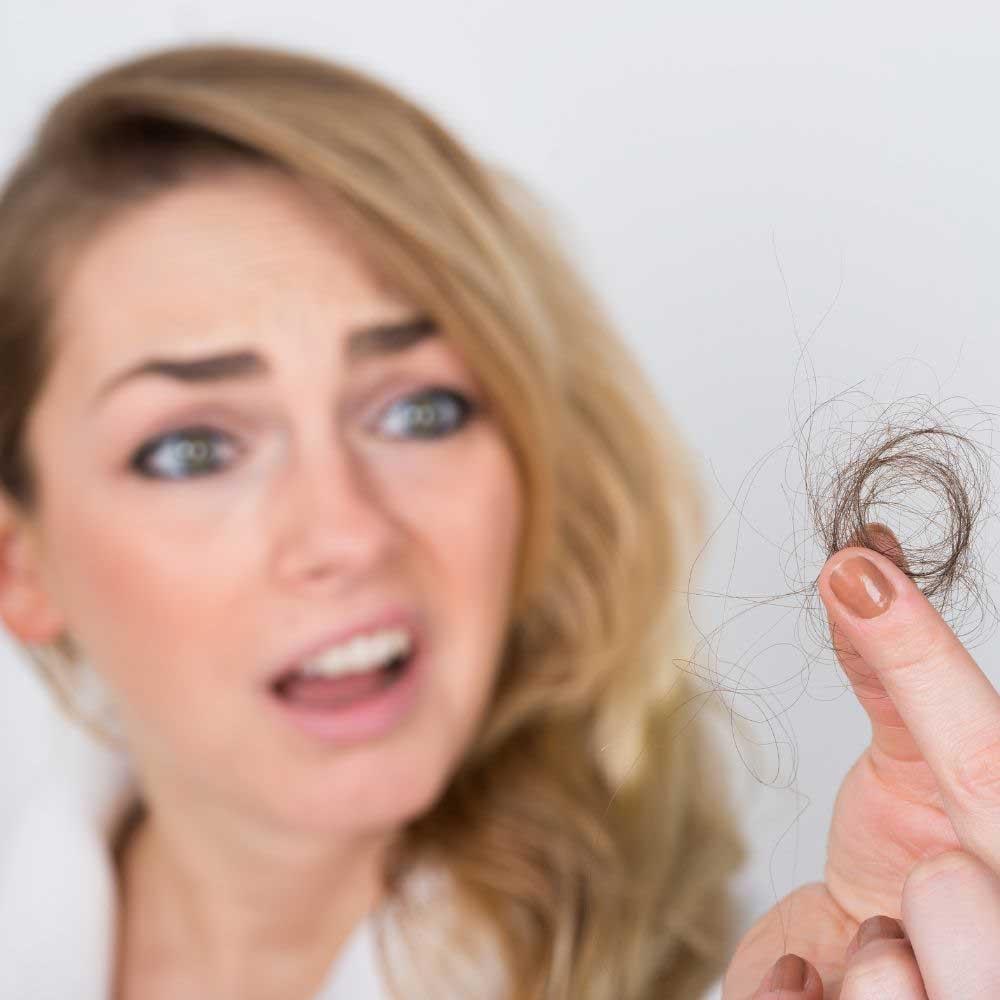 opadanje kose i štitna žlezda